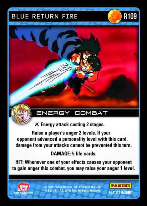 Dragon Ball Z Vengeance Rare Foil Blue Return Fire R109