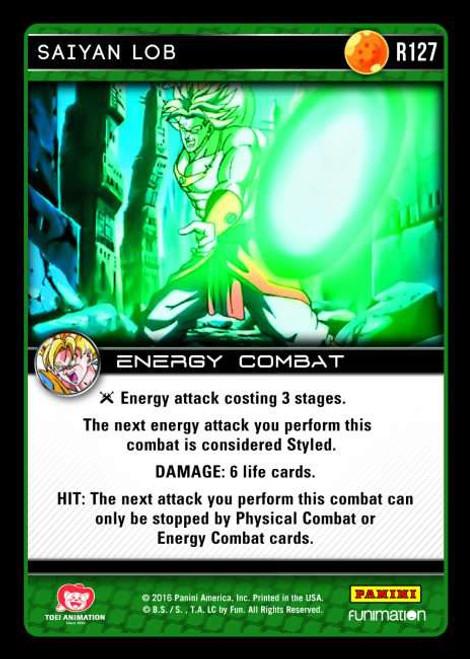 Dragon Ball Z Vengeance Rare Foil Saiyan Lob R127