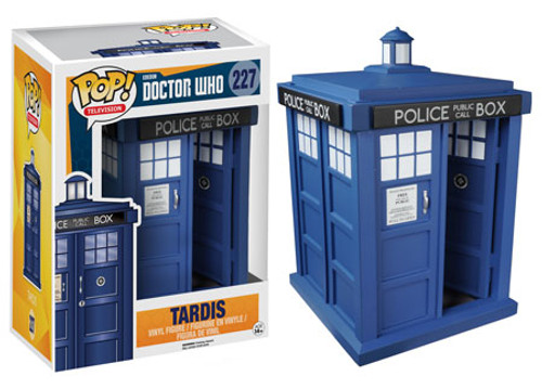 Funko Doctor Who POP! TV Tardis 6-Inch Vinyl Figure #227 [Super-Sized, Damaged Package]