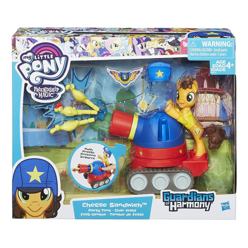 My Little Pony Guardians of Harmony Cheese Sandwich & Party Tank Figure
