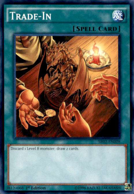 YuGiOh Rise of the True Dragons Structure Deck Common Trade-In SR02-EN028