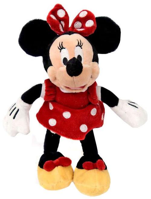 Disney Mickey Mouse Minnie Mouse Mini Bean 9-Inch Plush