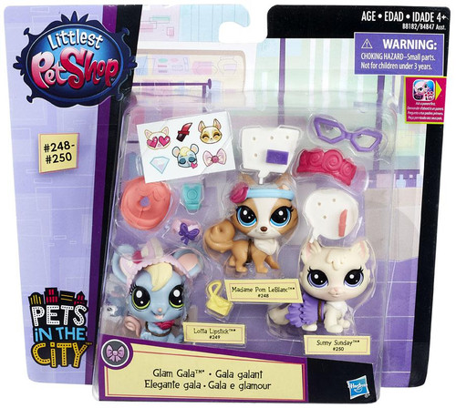 Littlest Pet Shop Pets in the City Glam Gala