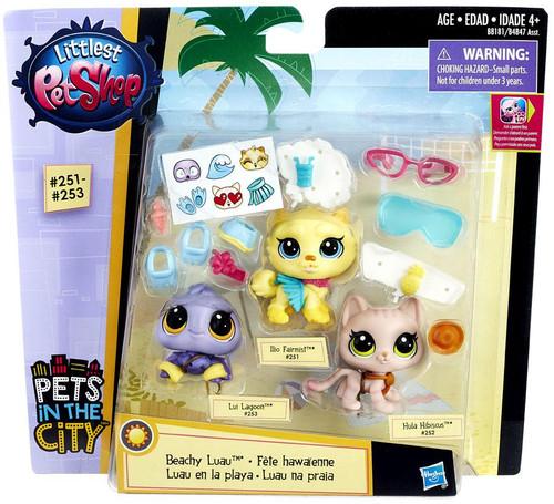 Littlest Pet Shop Pets in the City Beachy Luau