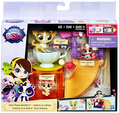 Littlest Pet Shop Sweet Shoppe Adventures Playset