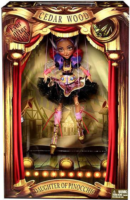 Ever After High Cedar Wood Exclusive 11-Inch Marionette Doll