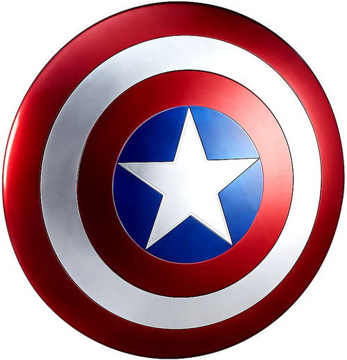 Marvel Legends Gear Captain America Shield Prop Replica [Movie Version]