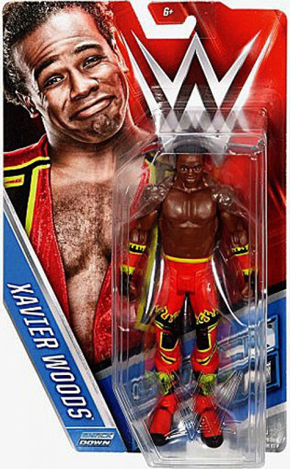 WWE Wrestling Series 64 Xavier Woods Action Figure