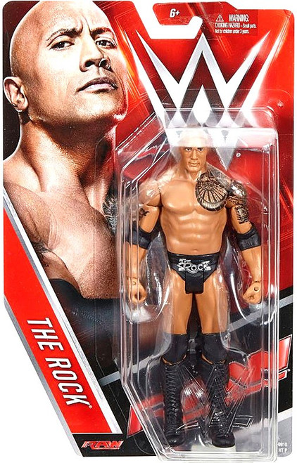 WWE Wrestling Series 65 The Rock Action Figure
