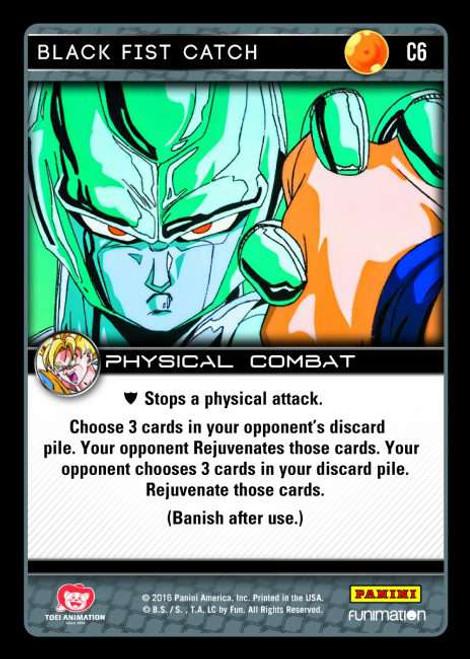 Dragon Ball Z CCG Vengeance Common Foil Black Fist Catch C6