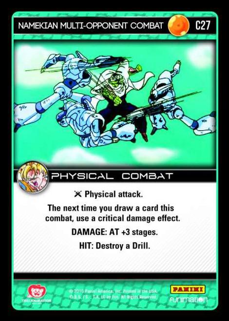 Dragon Ball Z CCG Vengeance Common Foil Namekian Multi-Opponent Combat C27