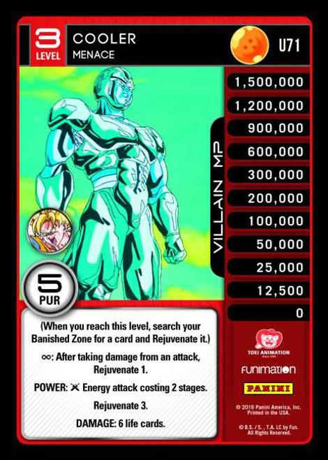 Dragon Ball Z Vengeance Uncommon Foil Cooler - Menace U71