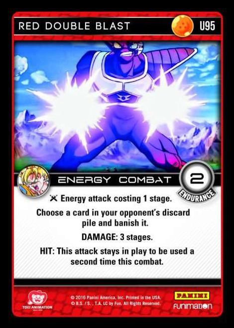 Dragon Ball Z Vengeance Uncommon Foil Red Double Blast U95