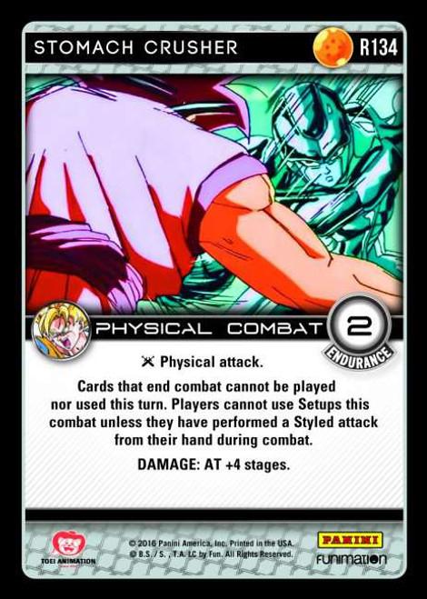 Dragon Ball Z Vengeance Rare Foil Stomach Crusher R134