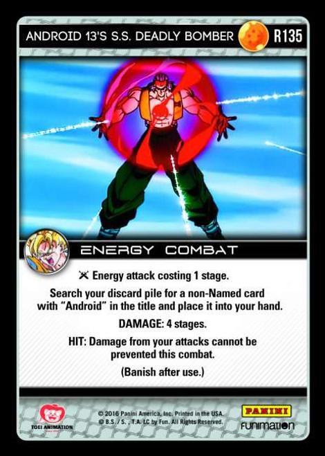 Dragon Ball Z CCG Vengeance Rare Foil Android 13's S.S. Deadly Bomber R135