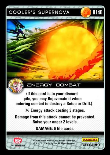 Dragon Ball Z CCG Vengeance Rare Foil Cooler's Supernova R140