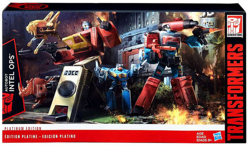 Transformers Generations Platinum Edition Blaster & Perceptor Action Figure 2-Pack
