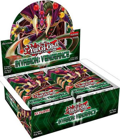 YuGiOh Trading Card Game Invasion: Vengeance Booster Box [24 Packs]