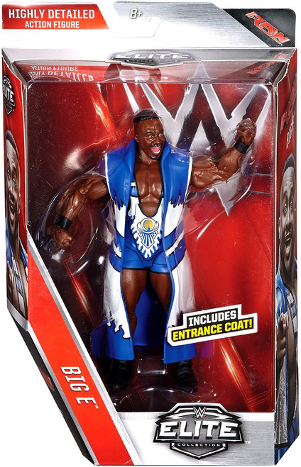 WWE Wrestling Elite Collection Series 44 Big E (New Day) Action Figure [Entrance Coat]