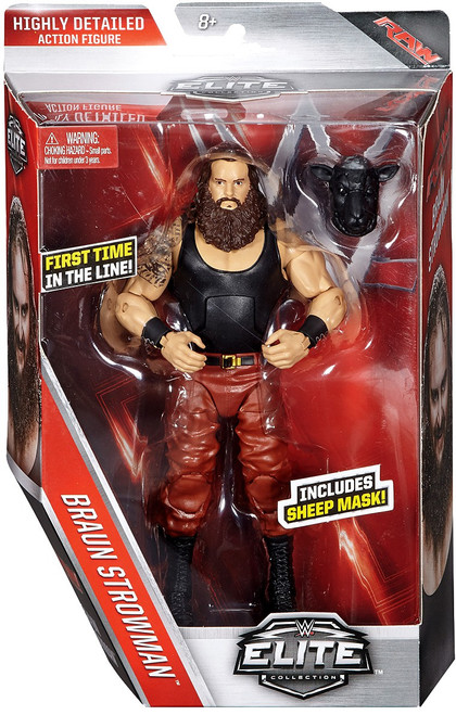 WWE Wrestling Elite Collection Series 44 Braun Strowman Action Figure [Sheep Mask]