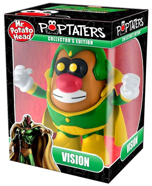 Marvel Avengers Pop Taters Vision 6-Inch Mr. Potato Head [The Android Avenger, Damaged Package]
