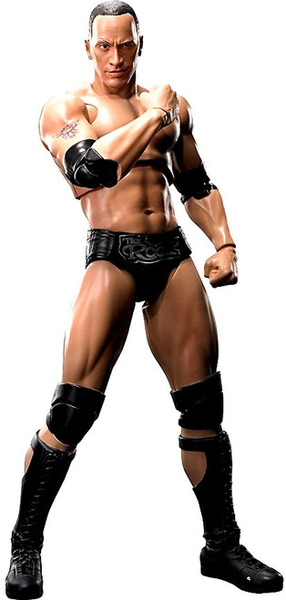 WWE Wrestling S.H. Figuarts The Rock Action Figure