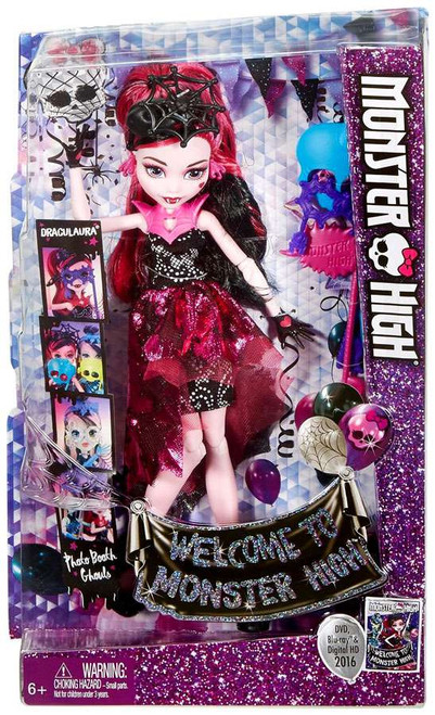 Welcome to Monster High Draculaura Doll