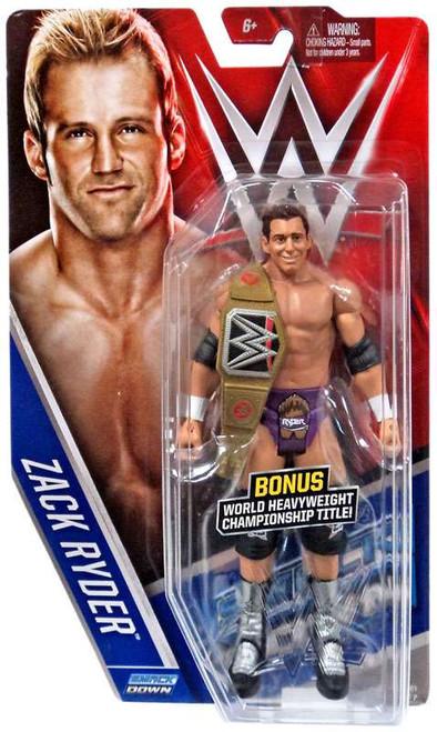 WWE Wrestling Series 61 Zack Ryder Action Figure [World Heavyweight Championship Title]