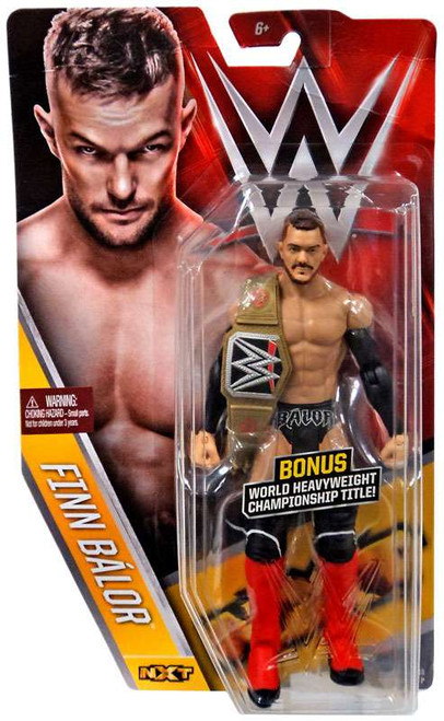 WWE Wrestling Series 61 Finn Balor Action Figure [World Heavyweight Championship Title]