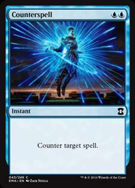 MtG Eternal Masters Common Foil Counterspell #43