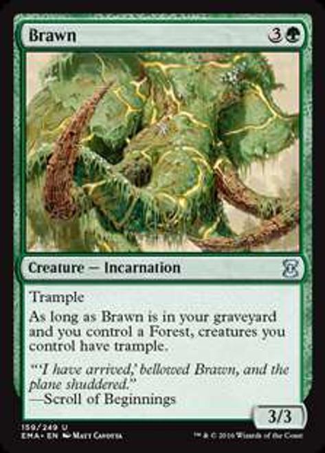 MtG Eternal Masters Uncommon Foil Brawn #159