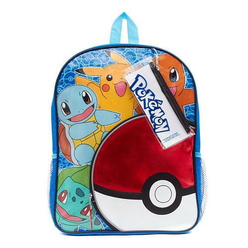 Pokemon Backpack [with pencil Case]