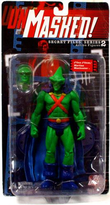 DC Secret Files Series 2 Unmasked J'onn J'onzz / Martian Manhunter Action Figure [Loose]