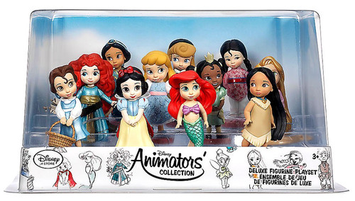 Disney Animators' Collection Animators Collection Exclusive Deluxe Figurine Set