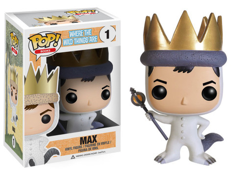 Funko Where the Wild Things Are POP! Books Max Vinyl Figure #01 [Damaged Package]