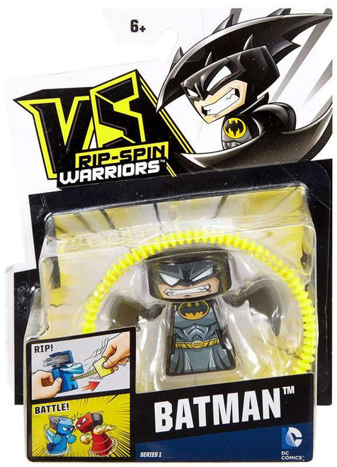 VS Rip-Spin Warriors DC Comics Series 1 Batman Single Pack