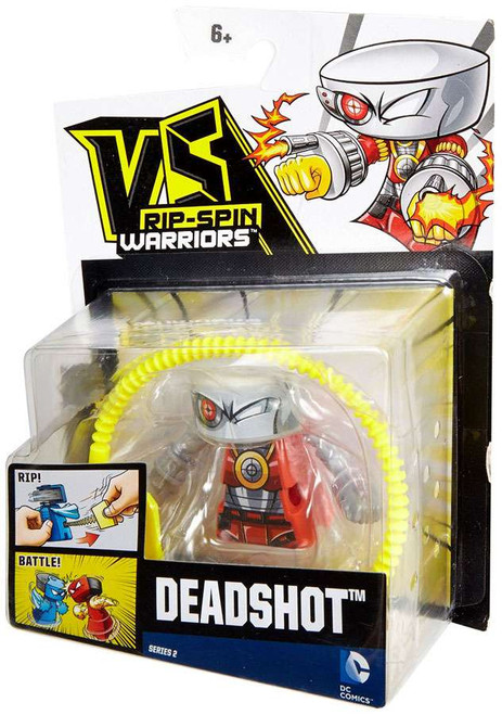 VS Rip-Spin Warriors DC Comics Deadshot Single Pack