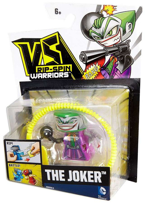 VS Rip-Spin Warriors DC Comics The Joker Single Pack
