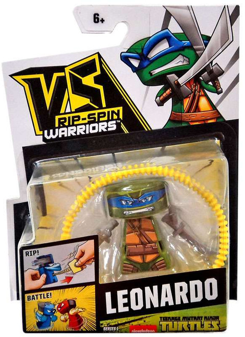 VS Rip-Spin Warriors Teenage Mutant Ninja Turtles Series 1 Leonardo Single Pack