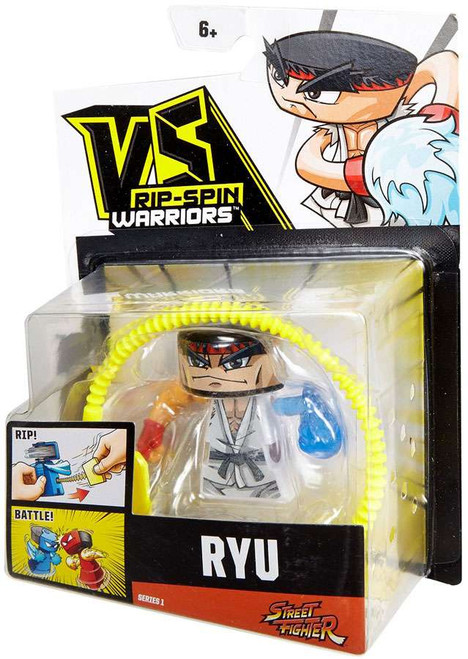 VS Rip-Spin Warriors Street Fighter Ryu Single Pack