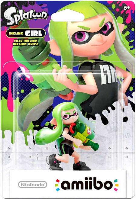 Nintendo Splatoon Amiibo Inkling Girl Mini Figure [Green]