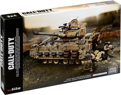 Mega Bloks Call of Duty Desert Tank Set #31279