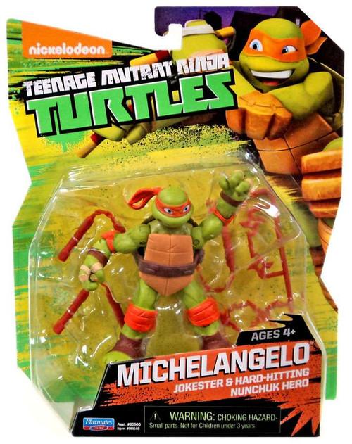 Teenage Mutant Ninja Turtles Nickelodeon Michelangelo Action Figure [4 Inch]