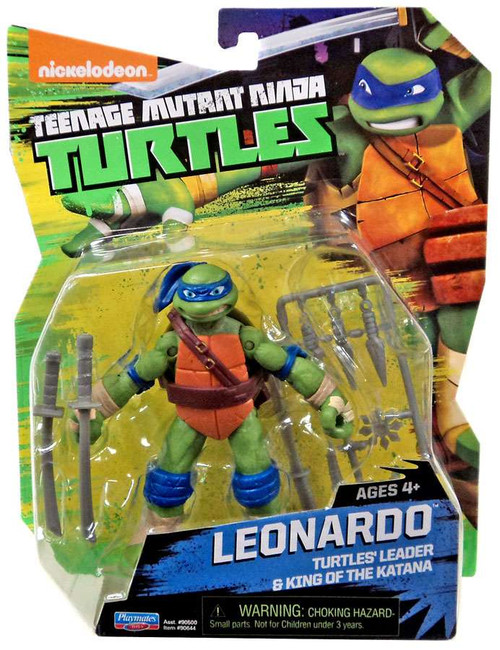 Teenage Mutant Ninja Turtles Nickelodeon Leonardo Action Figure [4 Inch]