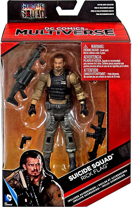 DC Suicide Squad Multiverse Rick Flag Exclusive Action Figure