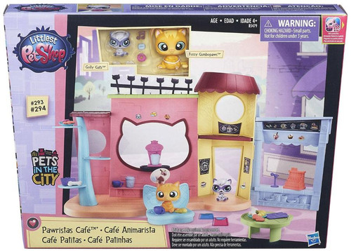 Littlest Pet Shop Pets in the City Pawristas Cafe Playset