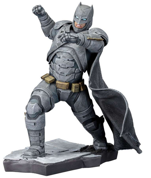 DC Batman v Superman: Dawn of Justice ArtFX+ Armored Batman Statue [Damaged Package]