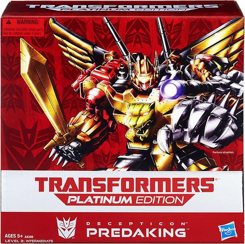 Transformers Platinum Edition Predaking Exclusive Action Figure [Damaged Package]