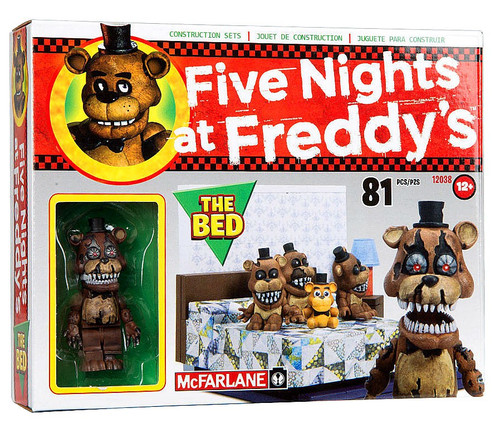 McFarlane Toys Five Nights at Freddy's The Bed Construction Set [Nightmare Freddy]