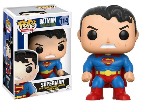 Funko DC The Dark Knight Returns POP! Heroes Superman Exclusive Vinyl Figure #114 [DKR]